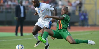 Football - 2015 Africa Cup of Nations Finals - Zambia v DR Congo - Ebibeyin Stadium - Ebibeyin
