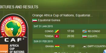 quarter Final Fixture