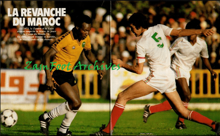 Archives Zambia v Morocco 1982 WCQualifier