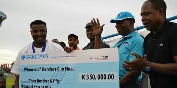 Barclays Cup Final Katongo